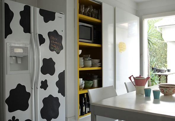 Casa decorada com adesivos personalizados 009