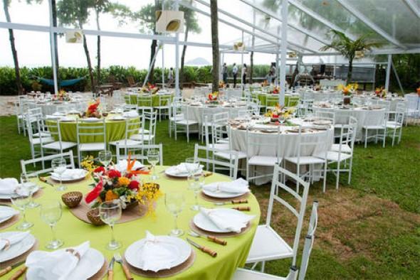 17 dicas de decoração para festa de casamento de noite -> Decoracao De Banheiro De Festa De Casamento
