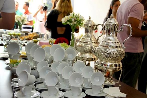 Decoração para festa de casamento de manhã 007