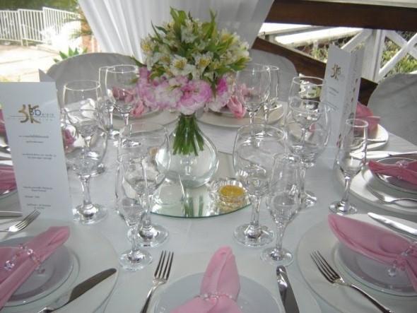 Decoração para festa de casamento de manhã 013