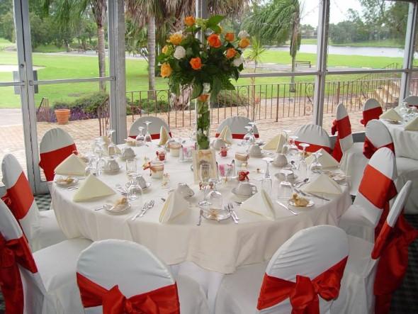 Decoração para festa de casamento de manhã 016