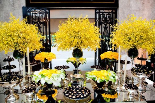 Decoração para festa de casamento de tarde 012