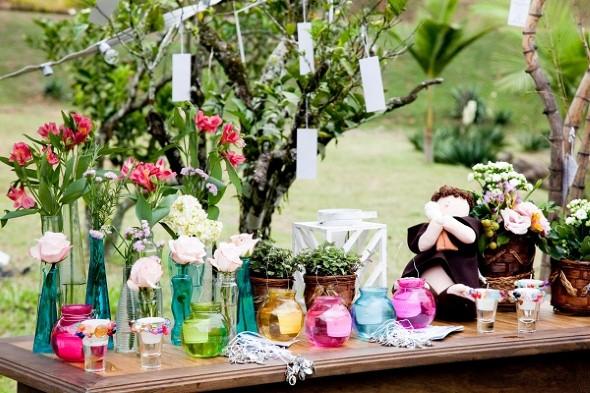 Decoração para festa de casamento de tarde 014