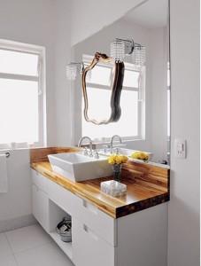 Espelhos para decorar o banheiro 005