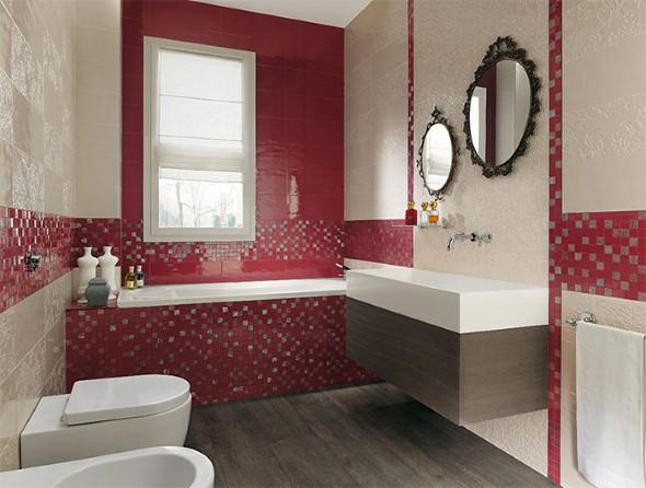 Espelhos para decorar o banheiro 008