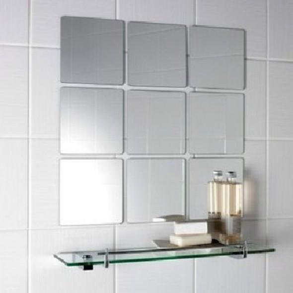 Espelhos para decorar o banheiro 013