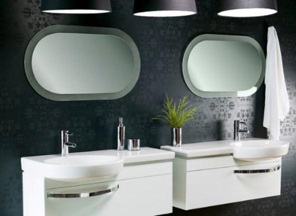 Espelhos para decorar o banheiro 015