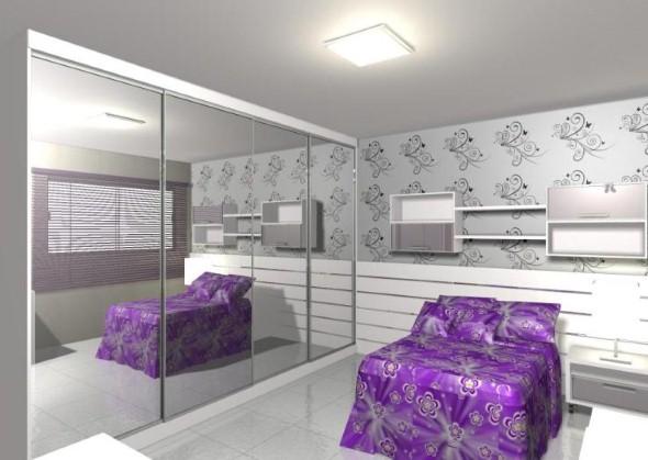 Espelhos para decorar o quarto 012