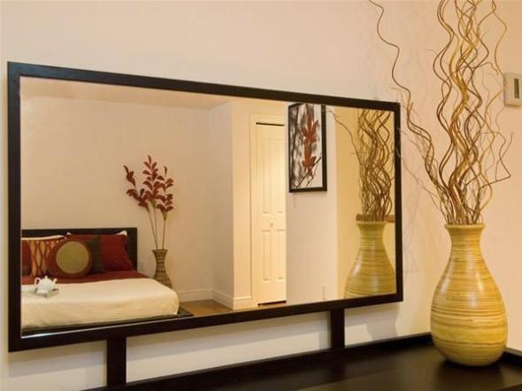 Espelhos para decorar o quarto 014