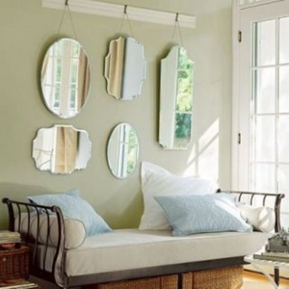 Espelhos para decorar o quarto 016