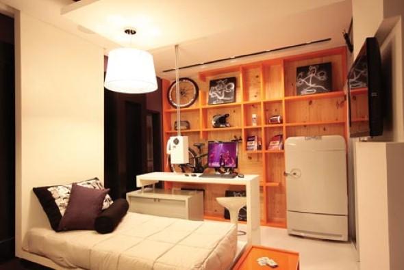 Decoração de quarto de solteiro 006