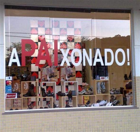 Decoração de vitrine para o Dia dos Pais 002
