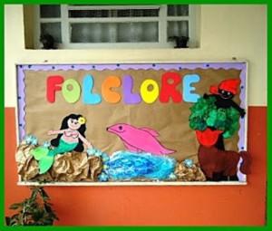Decoração sala de aula Dia do Folclore 001
