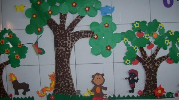 Decoração sala de aula Dia do Folclore 002