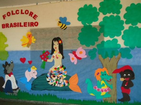 Decoração sala de aula Dia do Folclore 004