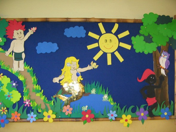 Decoração sala de aula Dia do Folclore 006