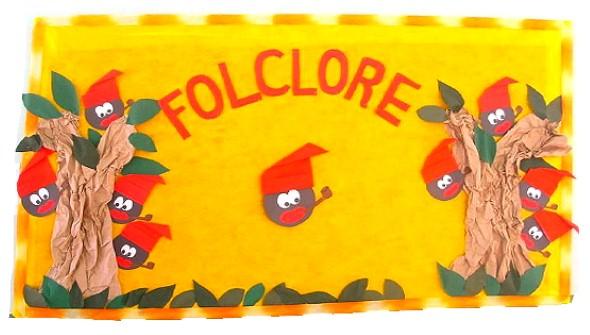 Decoração sala de aula Dia do Folclore 009