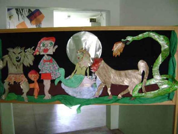 Decoração sala de aula Dia do Folclore 014