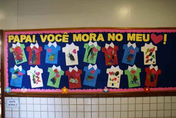 Decoração sala de aula Dia dos Pais 002