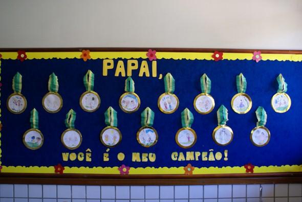 Decoração sala de aula Dia dos Pais 004