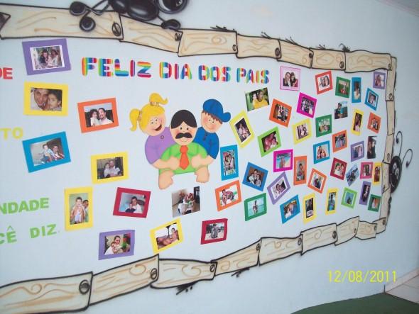Decoração sala de aula Dia dos Pais 007