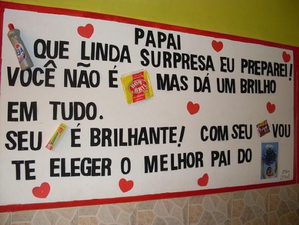 Decoração sala de aula Dia dos Pais 010