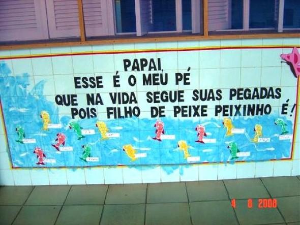 Decoração sala de aula Dia dos Pais 013