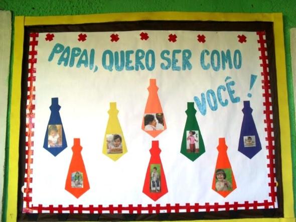 Decoração sala de aula Dia dos Pais 016