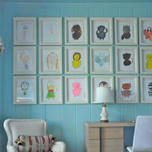 Decorar a casa com quadros personalizados 018