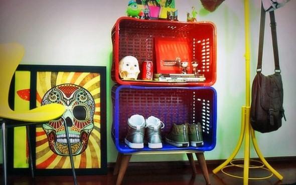 Decorar casa com materiais recicláveis 003
