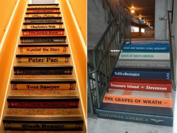Decorar escadas com degraus pintados 002
