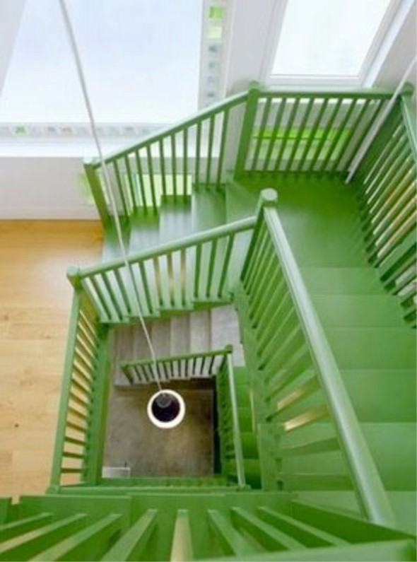Decorar escadas com degraus pintados 013