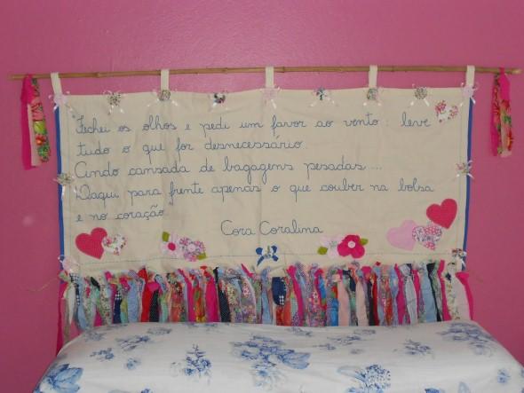 Letras e frases na decoração 006