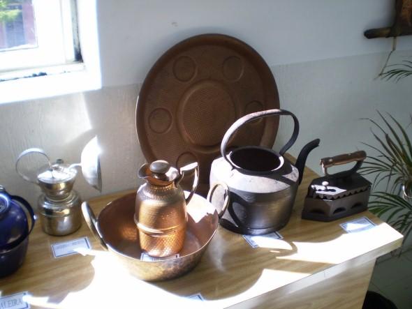Decoração com peças antiga 003