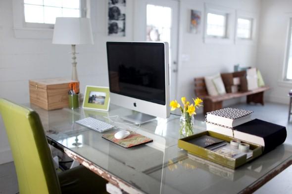 Decorar consultório ou escritório com plantas 010