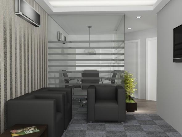 Decorar consultório ou escritório com plantas 014