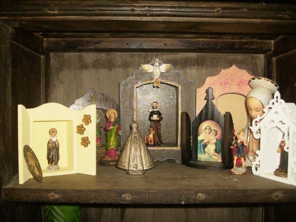 Oratórios na decoração 008