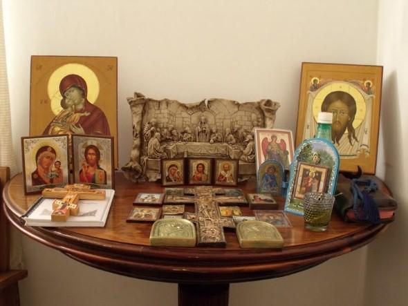 Oratórios na decoração 011