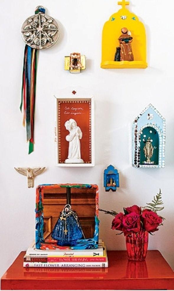 Oratórios na decoração 013
