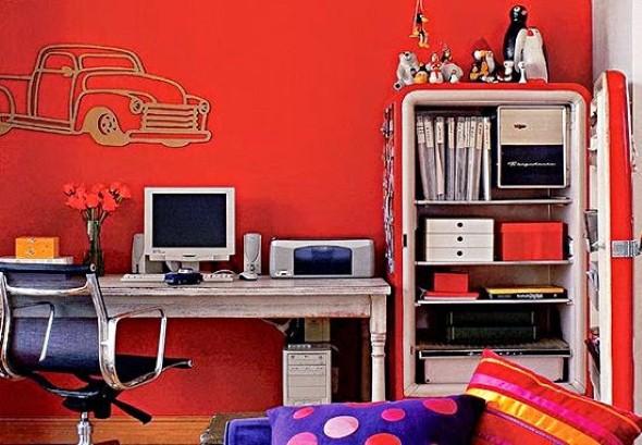 Usar eletrodomésticos antigos na decoração 002
