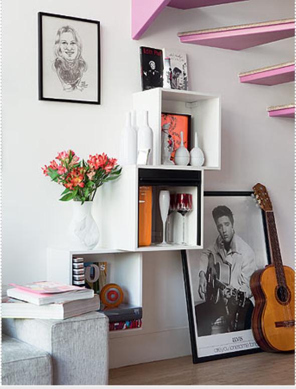 Casa mais organizada com o uso de nichos decorativos 002