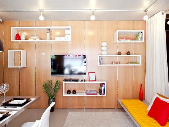 Casa mais organizada com o uso de nichos decorativos 008