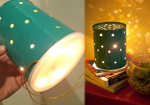 Como montar lanternas de lata para decoração 012