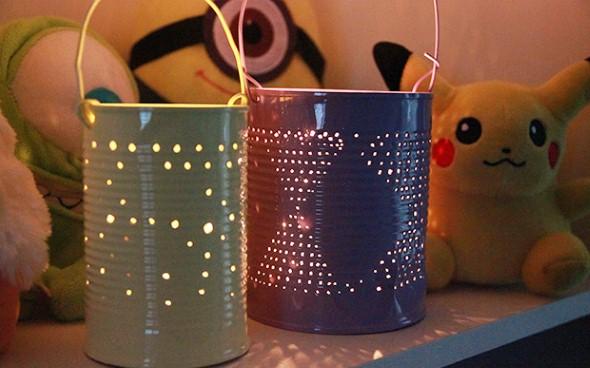 Como montar lanternas de lata para decoração 013