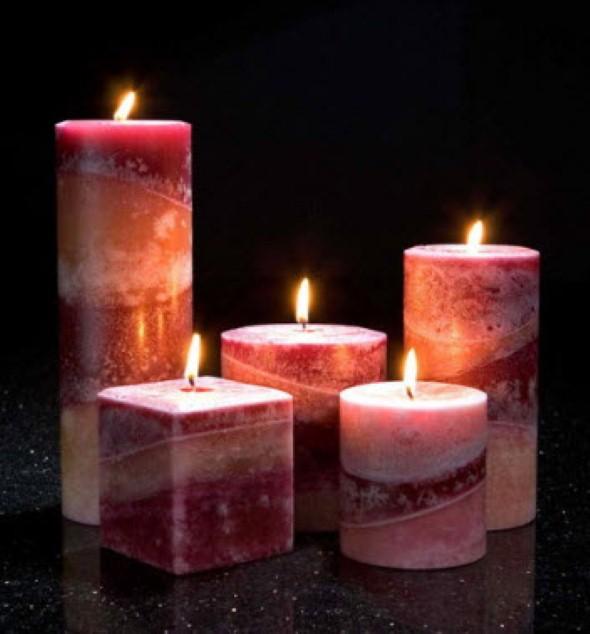 Como montar velas para decorar a casa 003