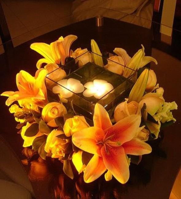 Como montar velas para decorar a casa 005