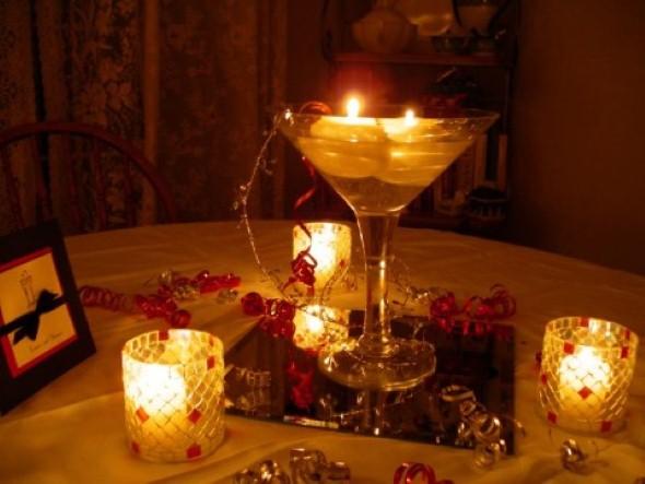 Como montar velas para decorar a casa 006