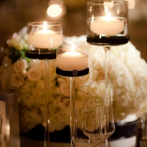 Como montar velas para decorar a casa 007