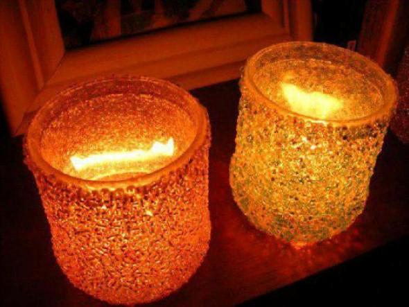 Como montar velas para decorar a casa 009