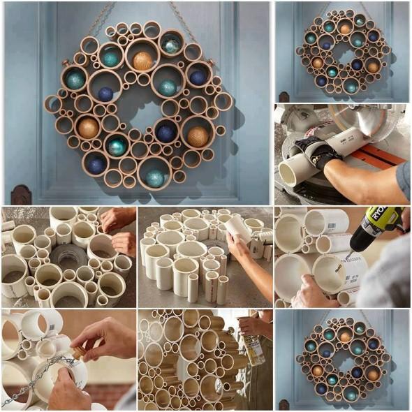 Como usar canos de PVC na decoração de ambientes 007